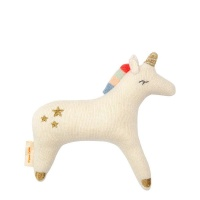 Unicorn Baby Rattle By Meri Meri